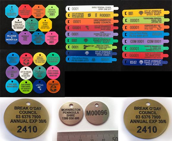 E >> Council Tags, Dog Tags, Id Tags - Limitless Promotions Sunshine Coast